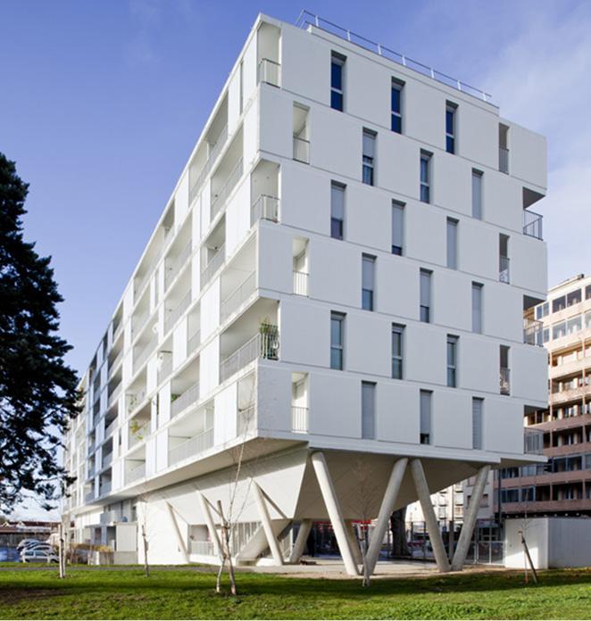 Logements collectifs for Construction de logements neufs