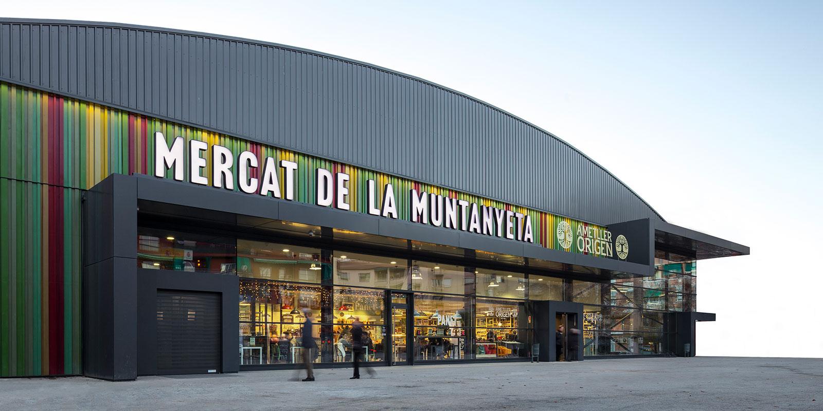 etcetera trabajar ms luz natural para el mercado municipal la muntanyeta barcelona