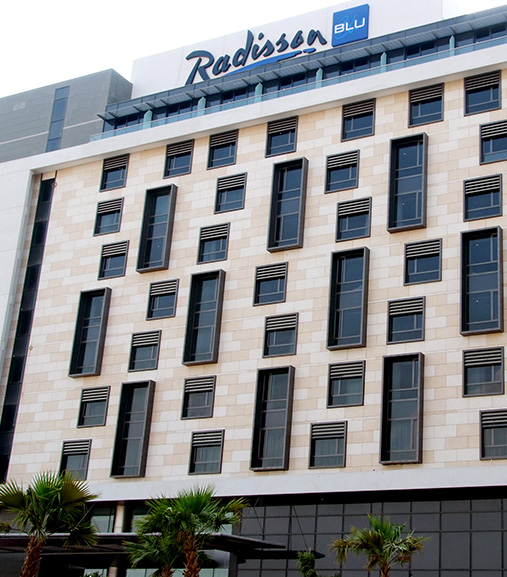Park inn & Radisson hotels