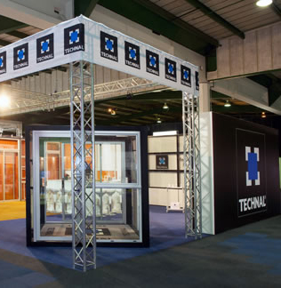 Technal GlassExpo Africa 2012 stand